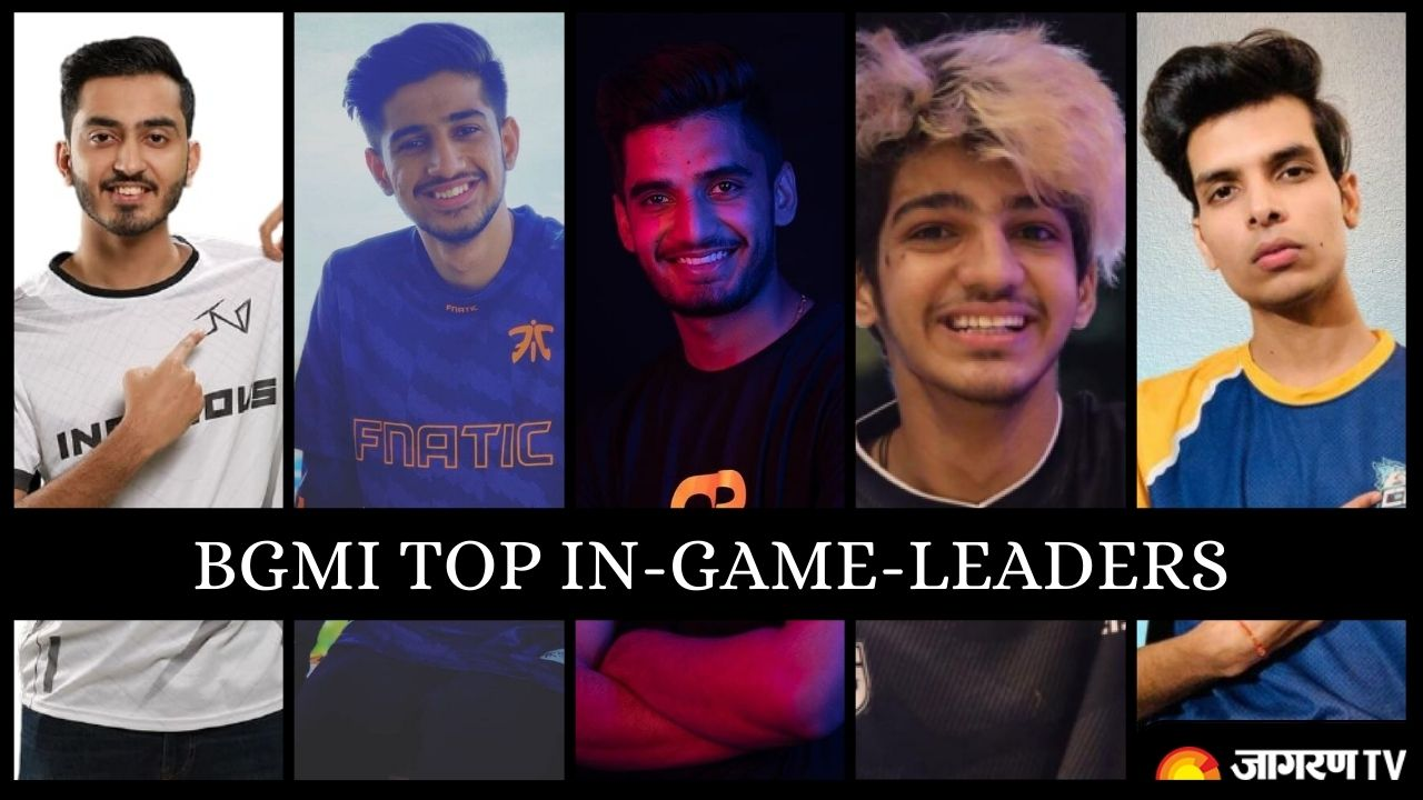 BGMI TOP IGL: Battlegrounds Mobile India Top In-Game Leaders including Soul Mavi and Owais.