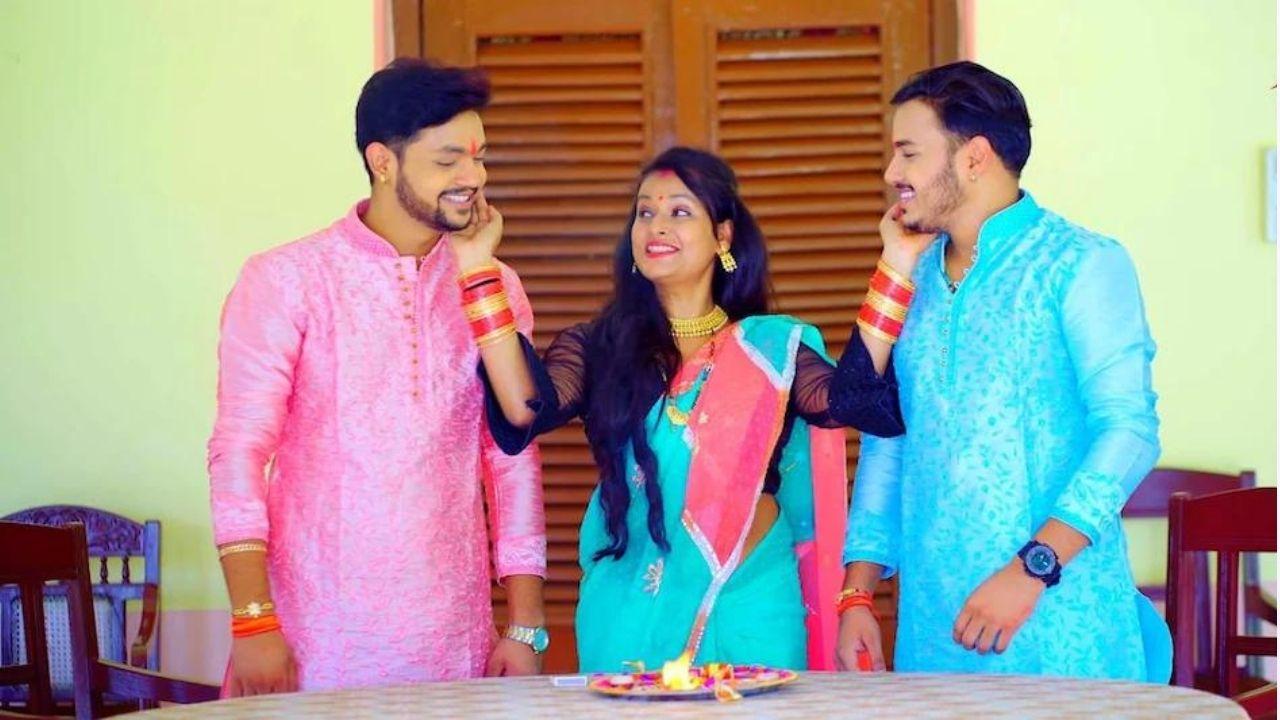 Bhojpuri Raksha Bandhan song: अंकुश राजा की जोड़ी के नए गाने को 3 दिन में मिले 50 लाख व्यूज- Watch Video