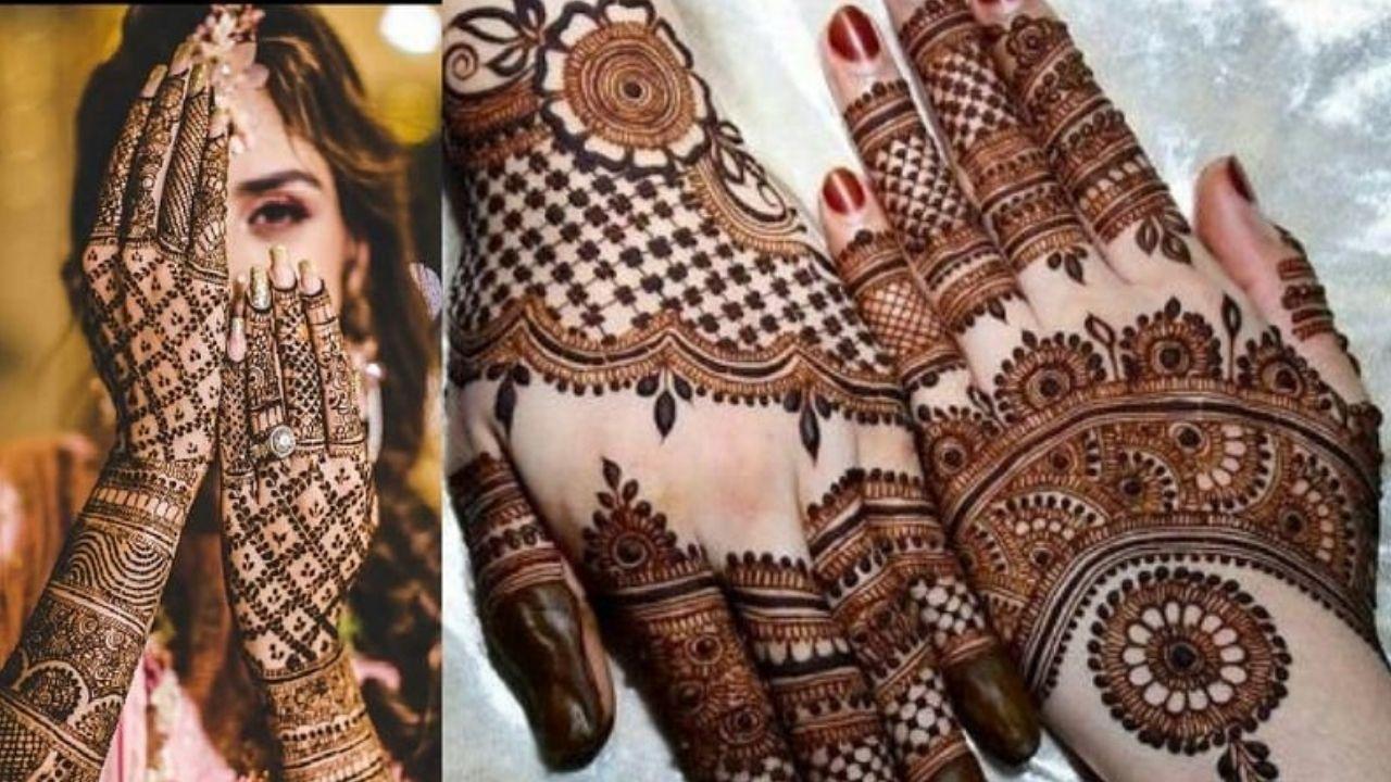 Hartalika Teej Mehendi Design : तीज के खास मौके पर हाथों पर रचाएं यहां दिए खास महेंदी डिज़ाइन्स