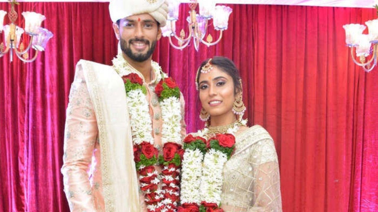 भारतीय क्रिकेट टीम के ऑलराउंडर शिवम दुबे ने अंजुम खान के साथ रचाई शादी, तस्वीरें की शेयर