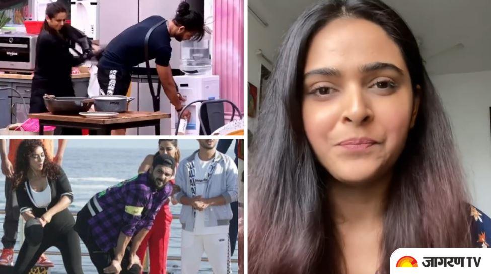 Madhurima Tuli slams Colors Tv for creating Bigg Boss 13 pan incident on Khatron Ke Khiladi 11, watch video