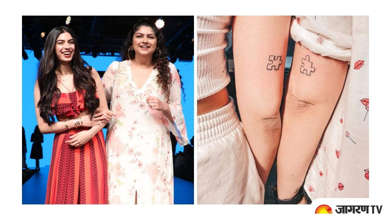 Arjun Kapoor sisters Anshula and Khushi Kapoor gets inked together 'Coz they Fit Together'