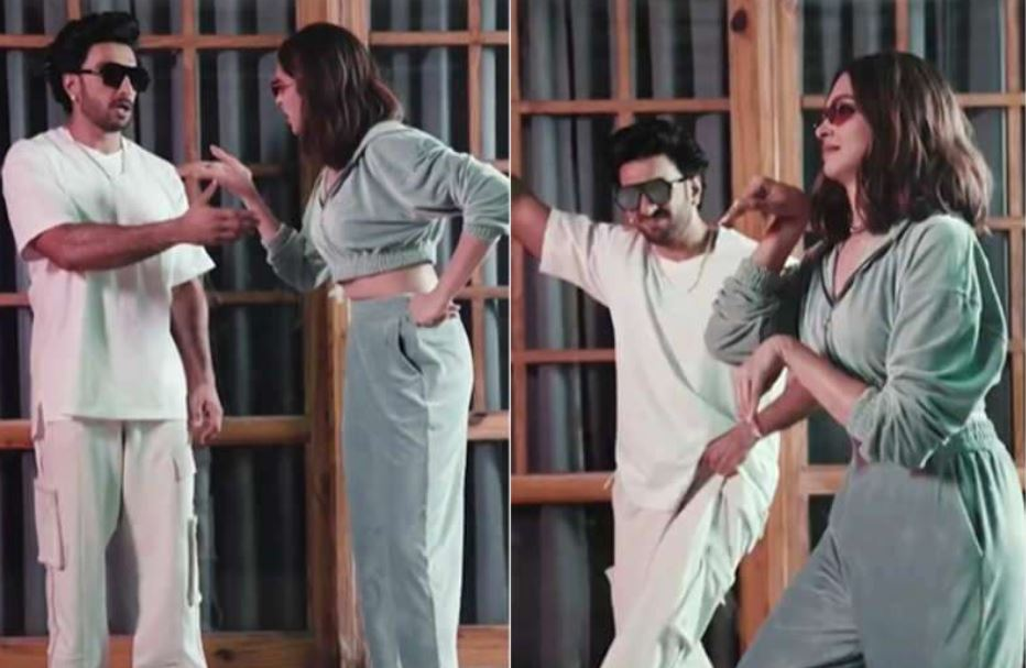 Deepika Padukone wishes Hubby Ranveer Singh in quirky style, duo dances on Shenazz Gill's song  'Sadda Kutta Tommy'