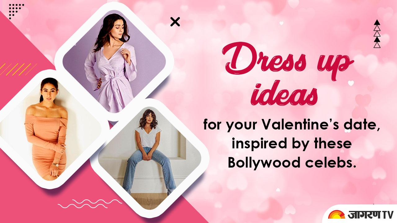 Valentine's Day Outfit Ideas: Dress up ideas for your Valentine's date, inspired by these Bollywood celebs. See Pics