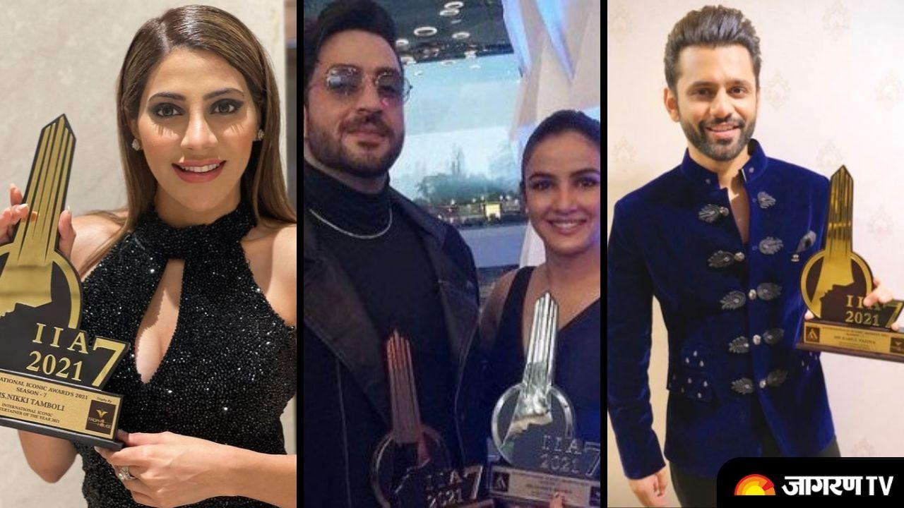 IIA Awards 2021: Full Winners List of International Iconic Awards 2021 including Nikki Tamboli, Aly Goni jasmin Bhasin Rahul Vaidya