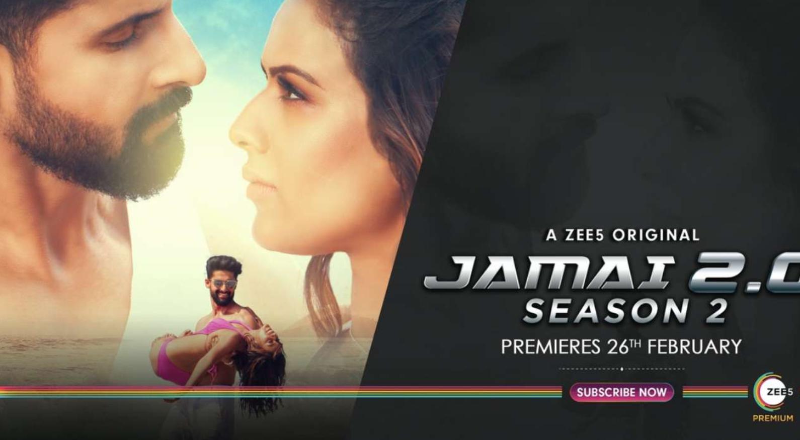 Jamai Raja season 2: Nia Sharma and Ravi Dubey are back with their sizzling chemistry in Jamai 2.0