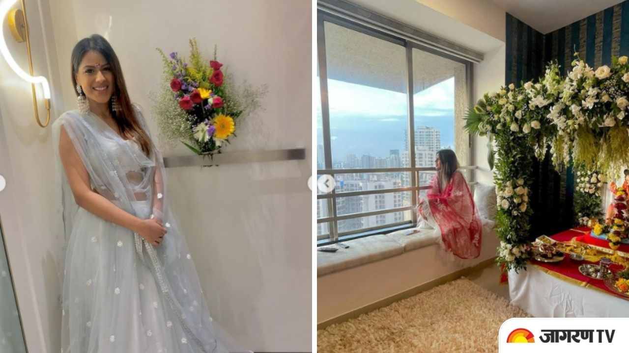 Nia Sharma performs Griha Pravesh of her new 'Nia Niwas', shares pics of her luxury abode