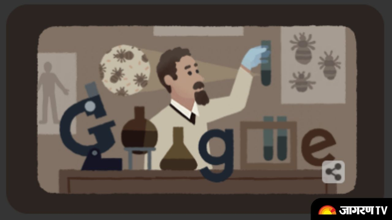 Google doodle celebrates Polish Biologist- All about Rudolf Weigl