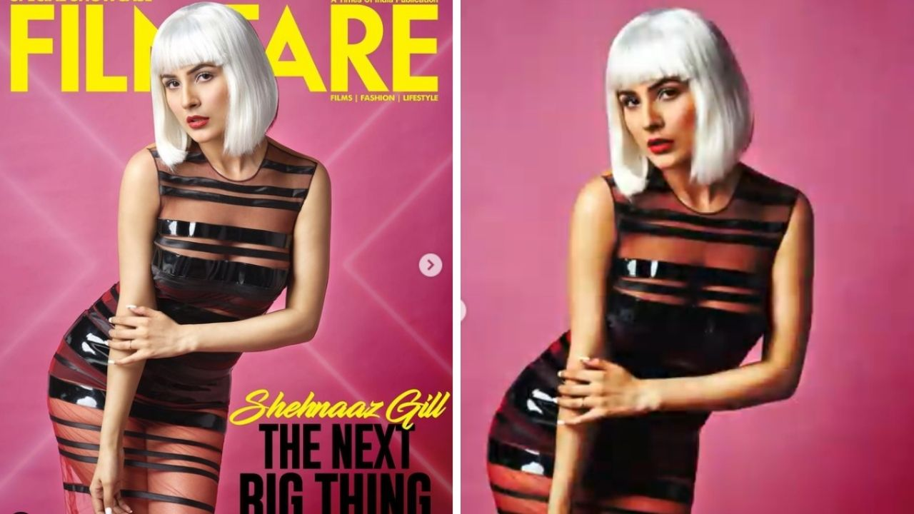 Shehnaz Gill Filmfare Covershoot alarms for the 'The Next Big Thing', See pictures