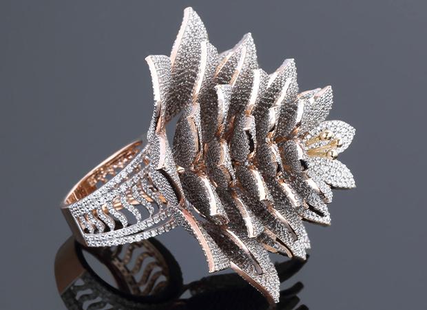 Kotti Srikanth :  हैदराबाद के ज्वैलर ने 7801 हीरे जड़ बनाई ये अंगूठी,  गिनीज वर्ल्ड रिकॉर्ड में नाम दर्ज