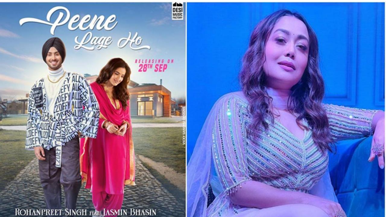 'Peene Lage ho' featuring Rohanpreet singh and Jasmin Bhasin first look out; Neha turns Director