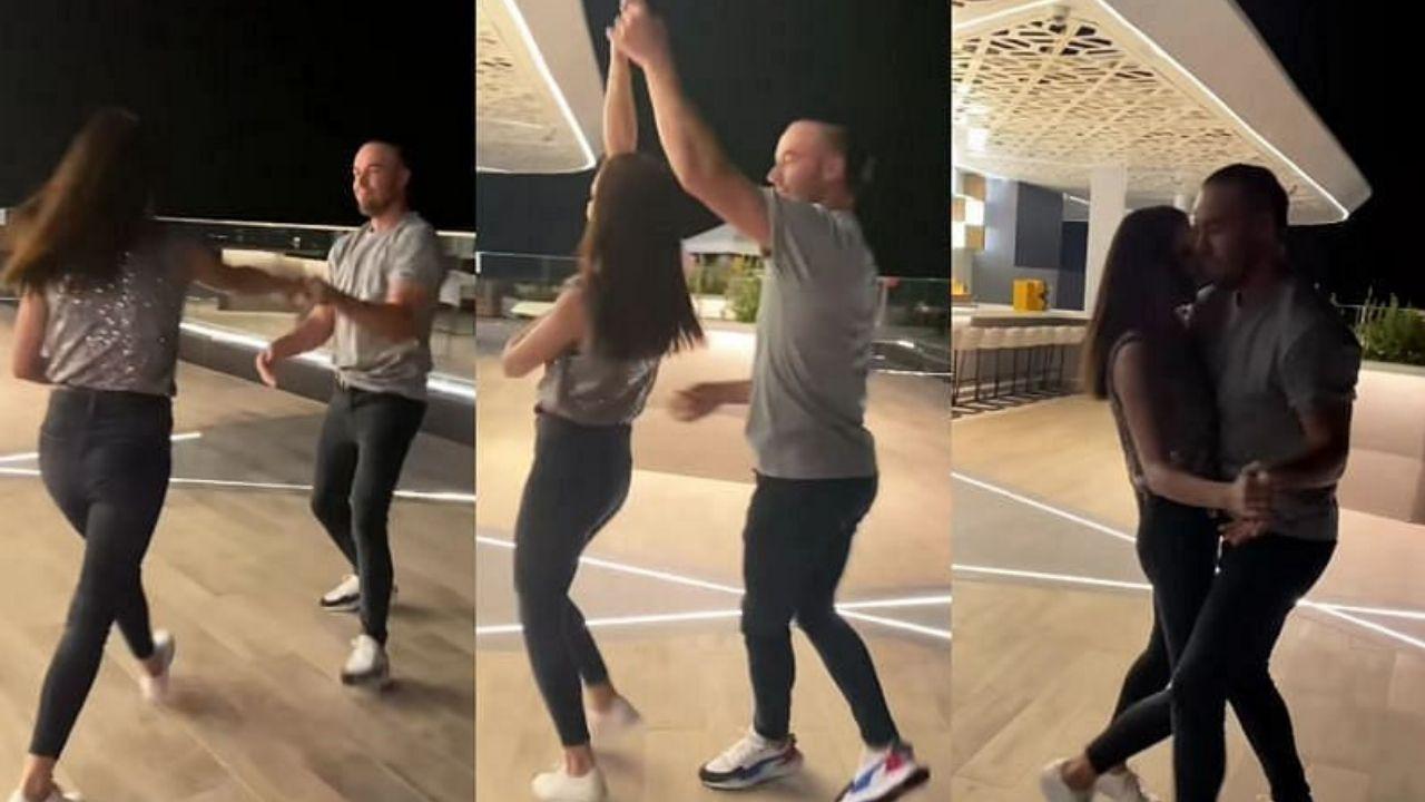 IPL 2021 : एबी डीविलियर्स का पत्नी के साथ डांस करते हे वीडियो हुआ वायरल, कैप्शन ने जीता फैंस का दिल