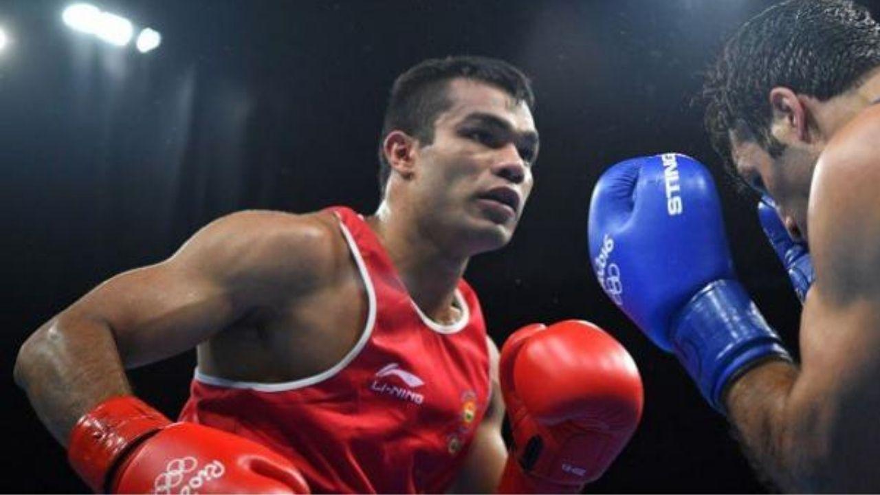 Boxer Satish Kumar Biography : सतीश कुमार मेडल जीतने का मौका चूके, क्वार्टर फाइनल में हारे