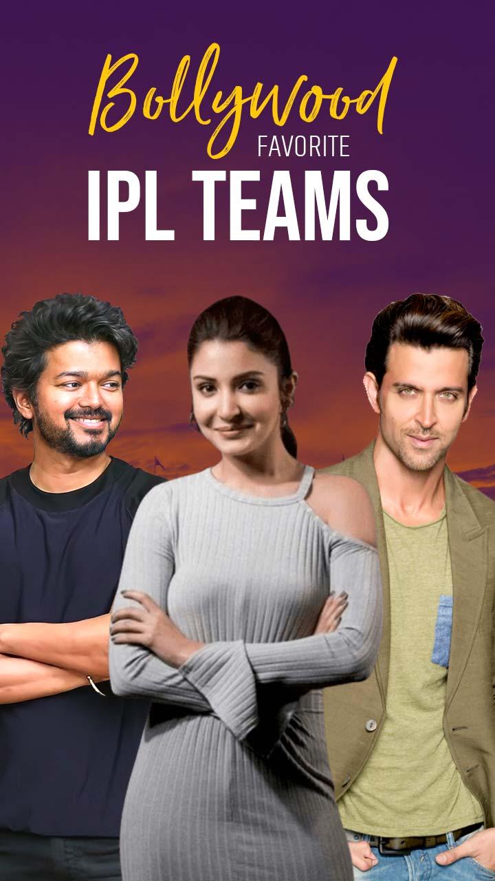 Bollywood Stars और उनकी Favorite IPL Teams