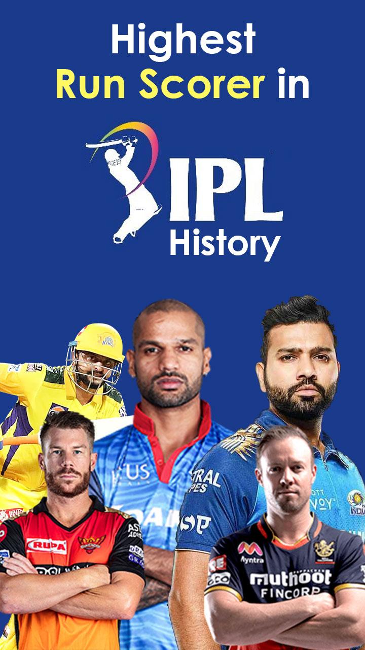 IPL में सबसे ज्यादा रन बनाने वाले खिलाड़ी