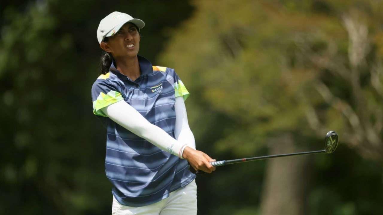 Tokyo Olympics 2020 : भारतीय गोल्फर अदिति इतिहास रचने की ओर, स्वर्ण पदक के लिए कल होगा फैसला