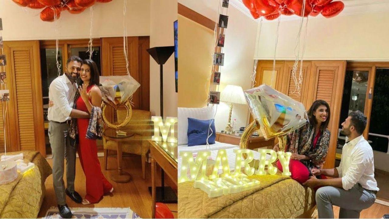 ऑलराउंडर Shreyas Gopal जल्द ही अपनी गर्लफ्रेंड Nikitha Shiv के साथ बंधेंगे शादी के बंधन में, फिल्मी अंदाज में किया प्रपोज