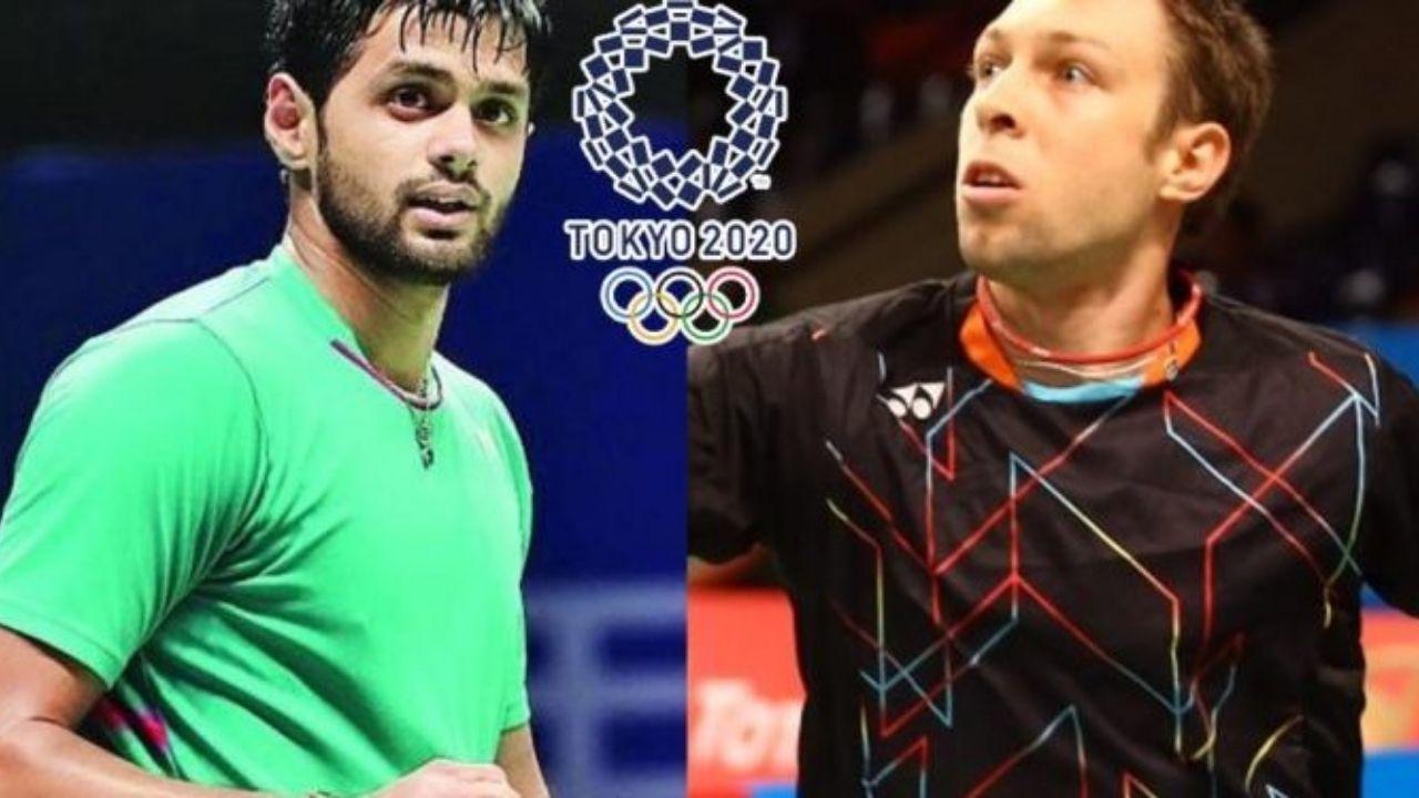 Tokyo Olympics : Sai Praneeth को Misha Zilberman ने हराया,  Rankireddy और Chirag Shetty ने किया शानदार प्रदर्शन