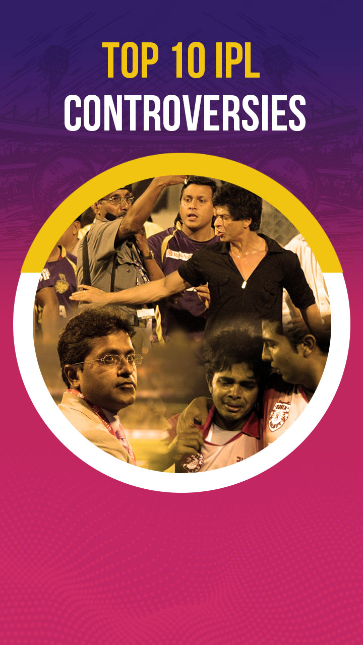 IPL इतिहास के 10 सबसे बड़े विवाद
