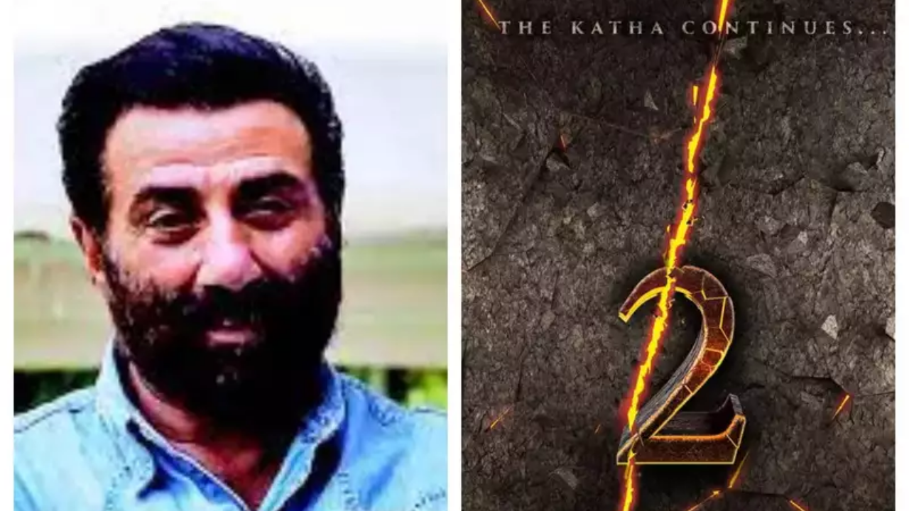 Gadar 2 going on floors; Sunny Deol, Amisha Patel shared teaser poster; Exciting news on the way